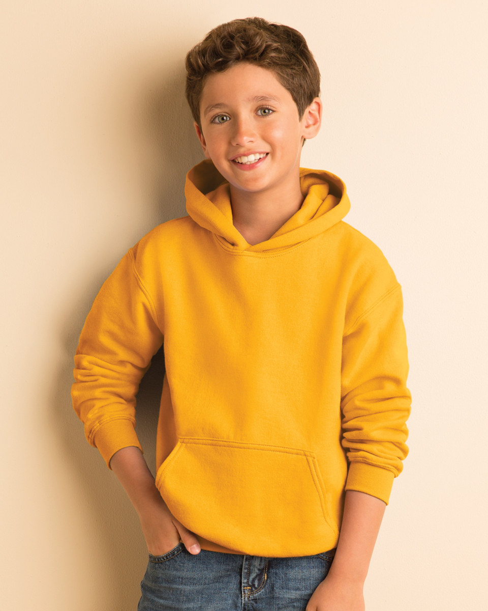 18500B - Gildan Childrens Hooded Sweatshirt