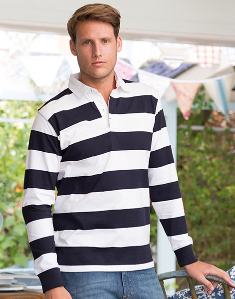 FR110 - Striped rugby shirt